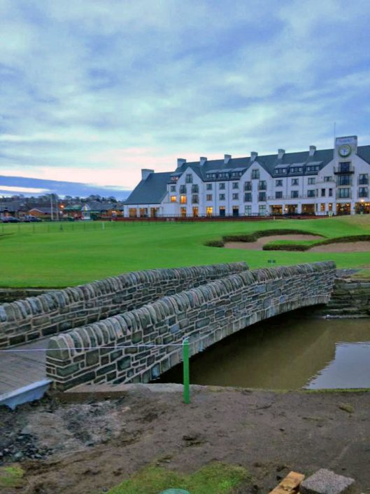 Carnoustie Golf Course Bridge
