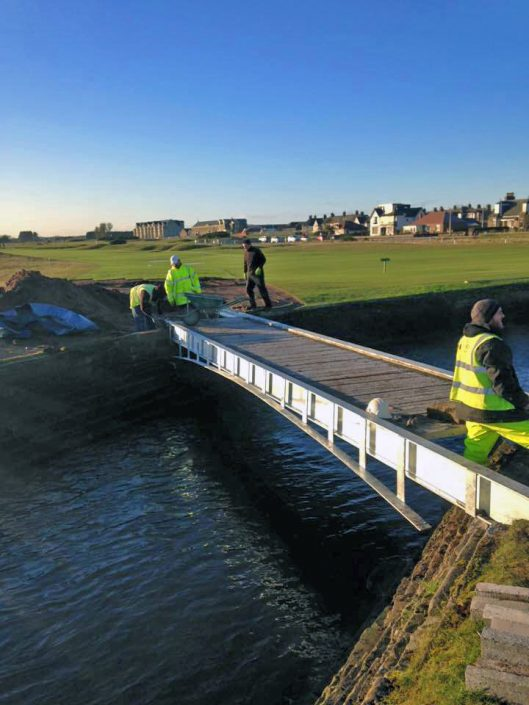 Carnoustie Golf Course Bridge